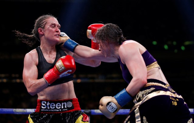 """Komt de 'rematch' er dan toch? Katie Taylor wil binnen het jaar opnieuw tegen Delfine Persoon boksen: """"Puntjes op de i zetten"""""""