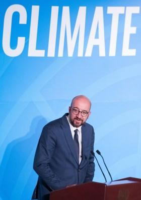 Premier Michel stelt verdubbeling Belgische bijdrage aan strijd tegen klimaatopwarming voor, Brussel roept noodtoestand uit