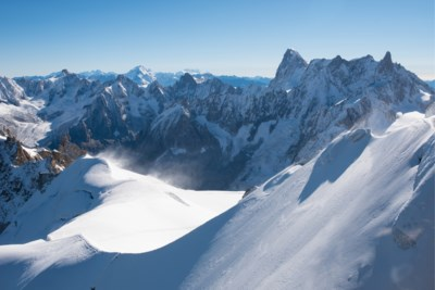 Code Rood voor de Mont Blanc: enorme gletsjer dreigt in te storten