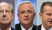 Drie VW-toplui vervolgd voor marktmanipulatie in 'dieselgate'