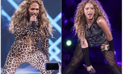 Girlpower tijdens Super Bowl: Jennifer Lopez en Shakira treden op tijdens halftime show