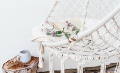 Ontspannen in huis … in je hangmat