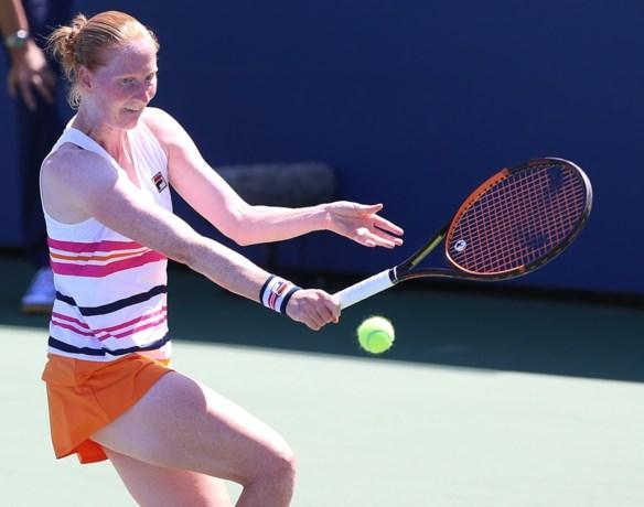 Van Uytvanck ondanks rugklachten naar halve finales op WTA Tasjkent