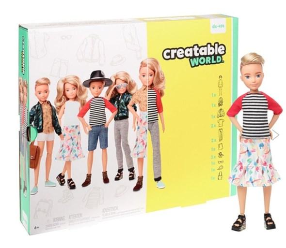 Mattel maakt genderinclusieve poppen