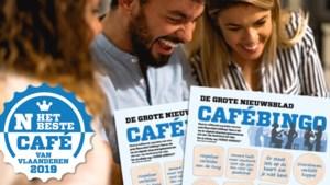 Het weekend inzetten op café? Neem dan de Nieuwsblad Cafébingo met je mee