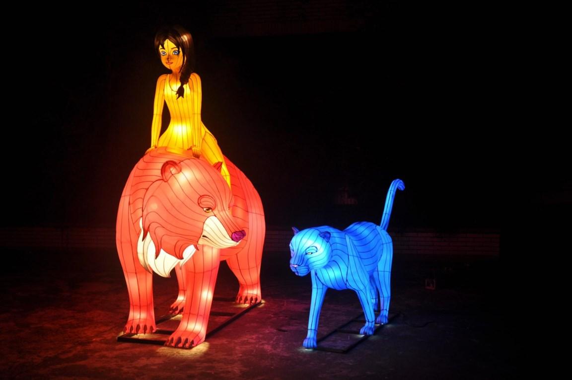 China Light Zoo Viert Vijfde Verjaardag Als Jungle Book Lig Antwerpen Het Nieuwsblad Mobile
