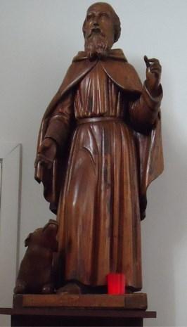 Sint-Antonius, beschermheilige van verloren voorwerpen, is zelf een verloren voorwerp