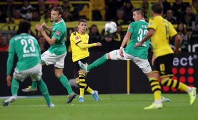 Thorgan Hazard strooit alweer met een assist, maar Dortmund laat dure punten liggen