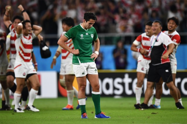 Japan verrast Ierland op WK rugby, ook Argentinië wint