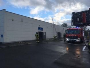 Printer veroorzaakt brand in magazijn Dreamland Kuurne