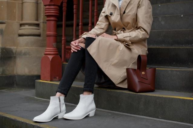 TREND. Hoe draag ik witte laarzen?