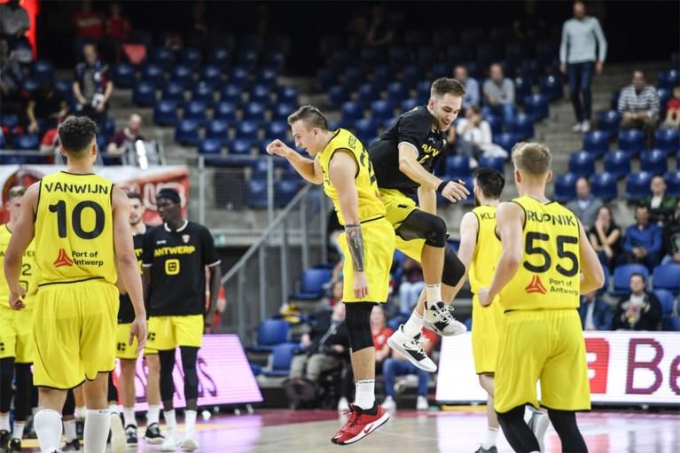 """Telenet Giants Antwerp voor tweede jaar op een rij naar Champions League basketbal, maar: """"We speelden te nerveus"""""""