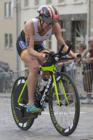 Sara Van De Vel wordt derde in Ironman 70.3 van Cozumel