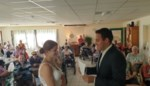 Ann-Sophie en Dieter trouwen in nabijheid van bewoners woonzorgcentrum