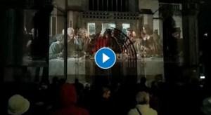 VIDEO. Het Laatste Avondmaal reist de wereld rond, maar start in Gent