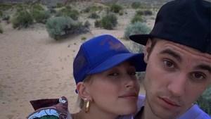 Justin Bieber deelt foto's met zijn kersverse bruid