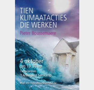 Gratis voorstelling: 10 klimaatacties die werken (Pieter Boussemaere)
