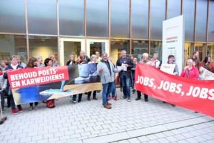 Voltallige oppositie protesteert tegen uitdoofscenario poetsdienst