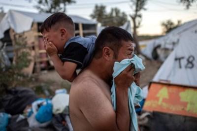 Hel op Lesbos: vluchtelingen komen in opstand tegen onmenselijke omstandigheden