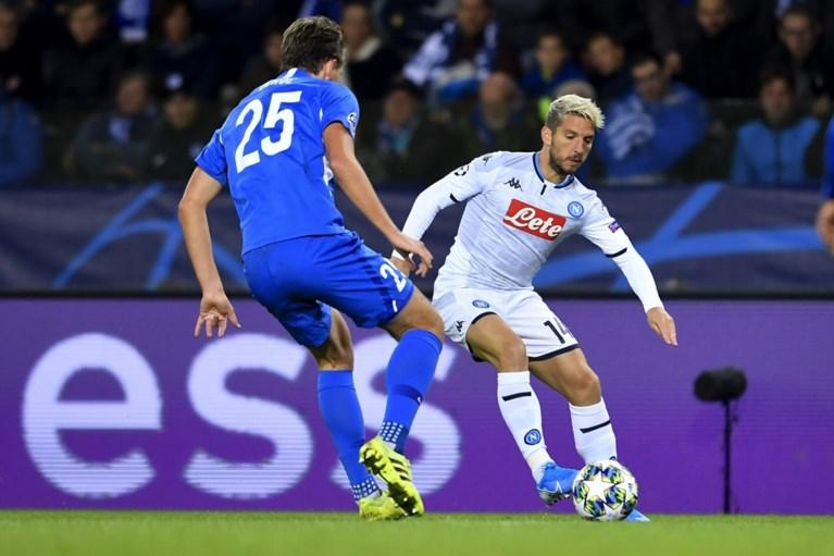 Nog een Belgische verrassing in de Champions League: KRC Genk houdt Napoli in bedwang