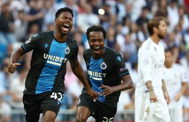 Club Brugge strandt op zucht van onwaarschijnlijke stunt, maar speelt wel gelijk op het veld van Real Madrid