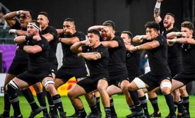 WK RUGBY. Titelverdediger Nieuw-Zeeland verplettert Canada, ook Frankrijk wint
