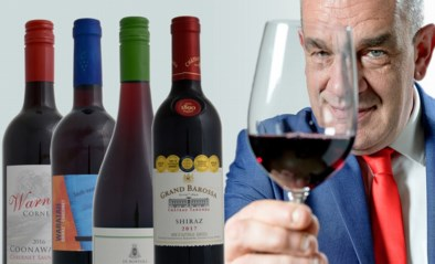 Alain Bloeykens proeft vier flessen rode wijn uit Australië en is niet helemaal overtuigd