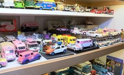 VIDEO. Over een unieke collectie miniatuurwagens gesproken...