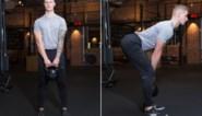 Stevigere billen met de kettlebell: onze fitcoach doet het voor