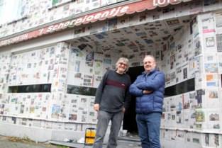 Kunstenaars pakken krantenwinkel in voor verjaardag Centrumfeesten