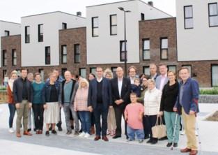 Sociaal nieuwbouwproject voor grote en kleine gezinnen