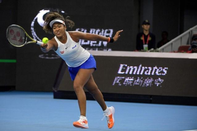 Osaka klopt Andreescu en mag naar halve finales in China