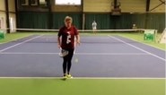 Beelden die gelukkig maken: Kim Clijsters werkt volop aan comeback in Bree
