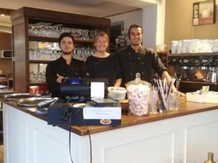 Heidi startte vijf jaar geleden met haar tearoom maar nu is haar zoon Ruben afgestudeerd en wordt concept sterk gewijzigd