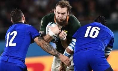 WK RUGBY. Zuid-Afrika boekt ruime zege tegen Italië
