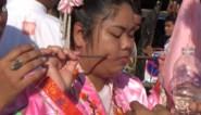 Pijnlijke taferelen tijdens jaarlijks vegetarisch festival