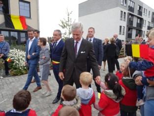 Koninklijk bezoek draait uit op volksfeest