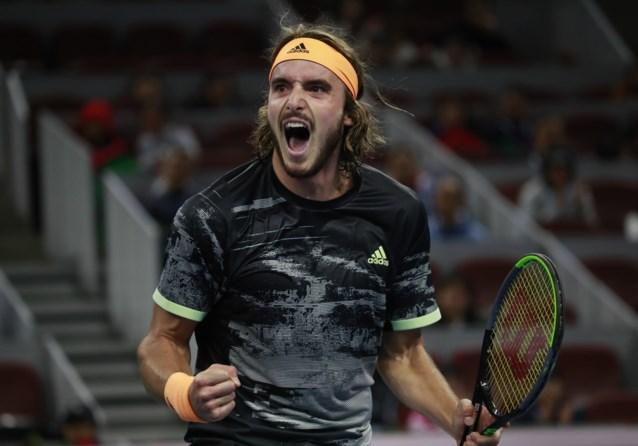 Tsitsipas naar finale in Peking, waar hij derde titel van het seizoen kan pakken