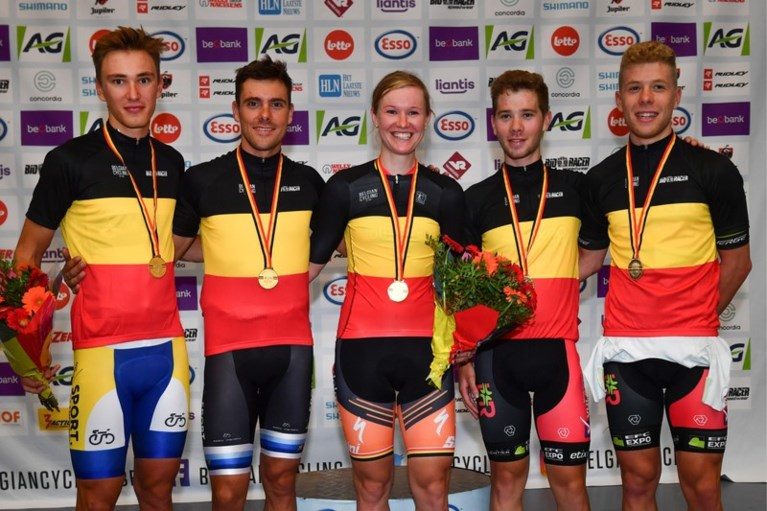 Kenny De Ketele, Jolien D'hoore en Lindsay De Vylder veroveren in Gent Belgische titels op de piste