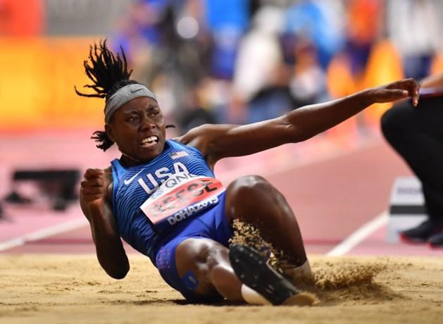 Titelverdedigster en viervoudig wereldkampioene verspringen Reese niet verder dan kwalificaties op WK atletiek