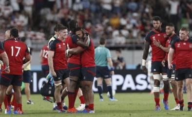 Engeland bereikt na zege tegen Argentinië als eerste kwartfinales op WK rugby, Australië klopt Uruguay