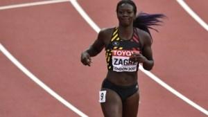 Anne Zagré ondanks val vijfde in halve finale 100m horden