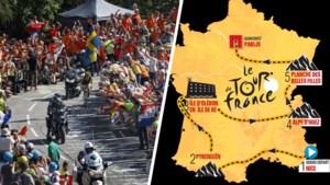 Zware start, schitterende apotheose: alle geruchten over Tourparcours 2020 op een rij