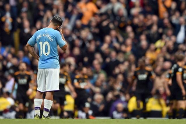 Geen De Bruyne, geen punten: Manchester City op eigen veld onderuit, achterstand op Liverpool bedraagt nu al acht punten
