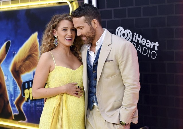 Blake Lively en Ryan Reynolds verwelkomen hun derde kindje