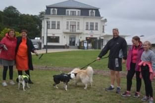 150 hondenbaasjes steunen petitievoor hondenlosloopweide in Warande