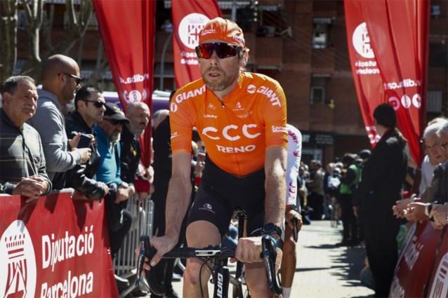 Nederlander Laurens Ten Dam zwaait af als wielrenner in de Ronde van Lombardije