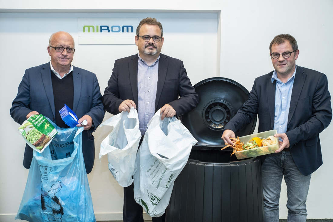 """Mirom verhoogt prijs vuilzak naar 1,70 euro: """"zesde van restafval is voedselverspilling"""""""
