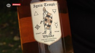 VIDEO. Het Waasland heeft er een streekproduct bij: Wase whisky genaamd Ignis Templi