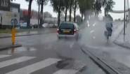 Onbeschofte bestuurder geeft fietser de volle laag en komt ermee weg